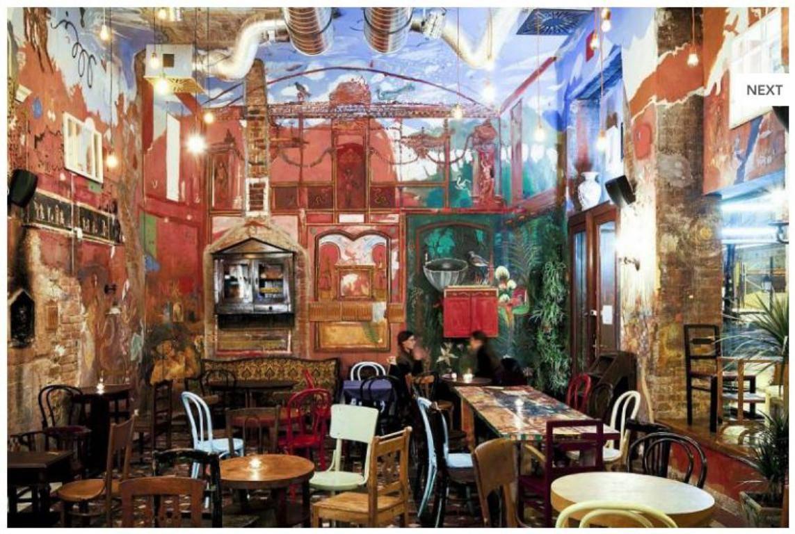 bares en ruinas de Budapest puder