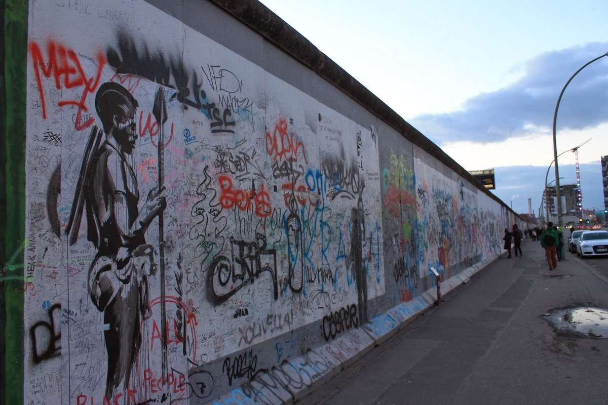 East Side Gallery muro