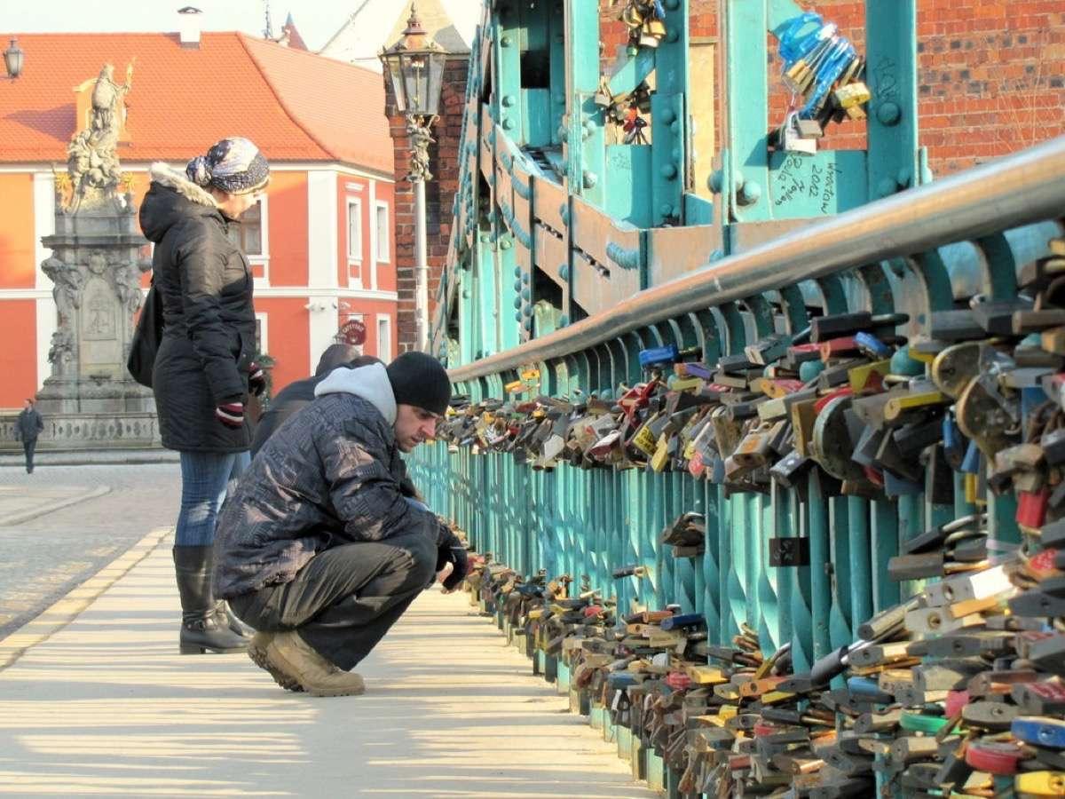 wroclaw, puente del amor