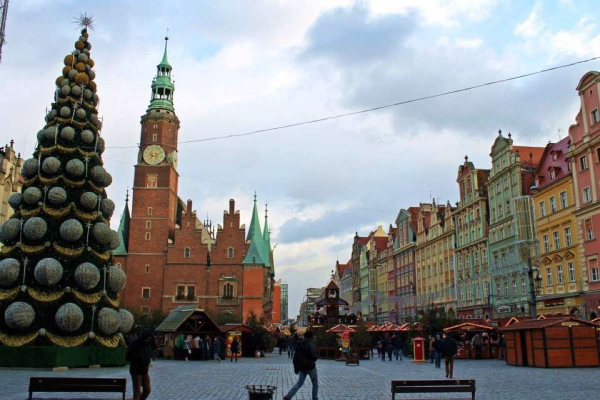 Wroclaw, plaza