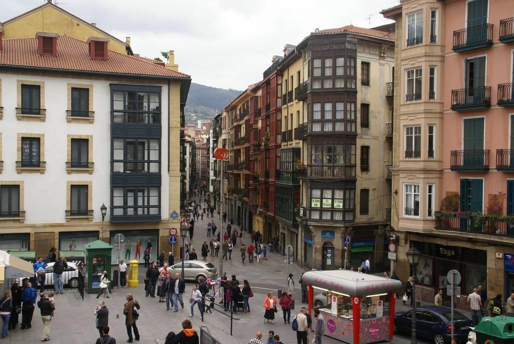 visita a bilbao: casco viejo