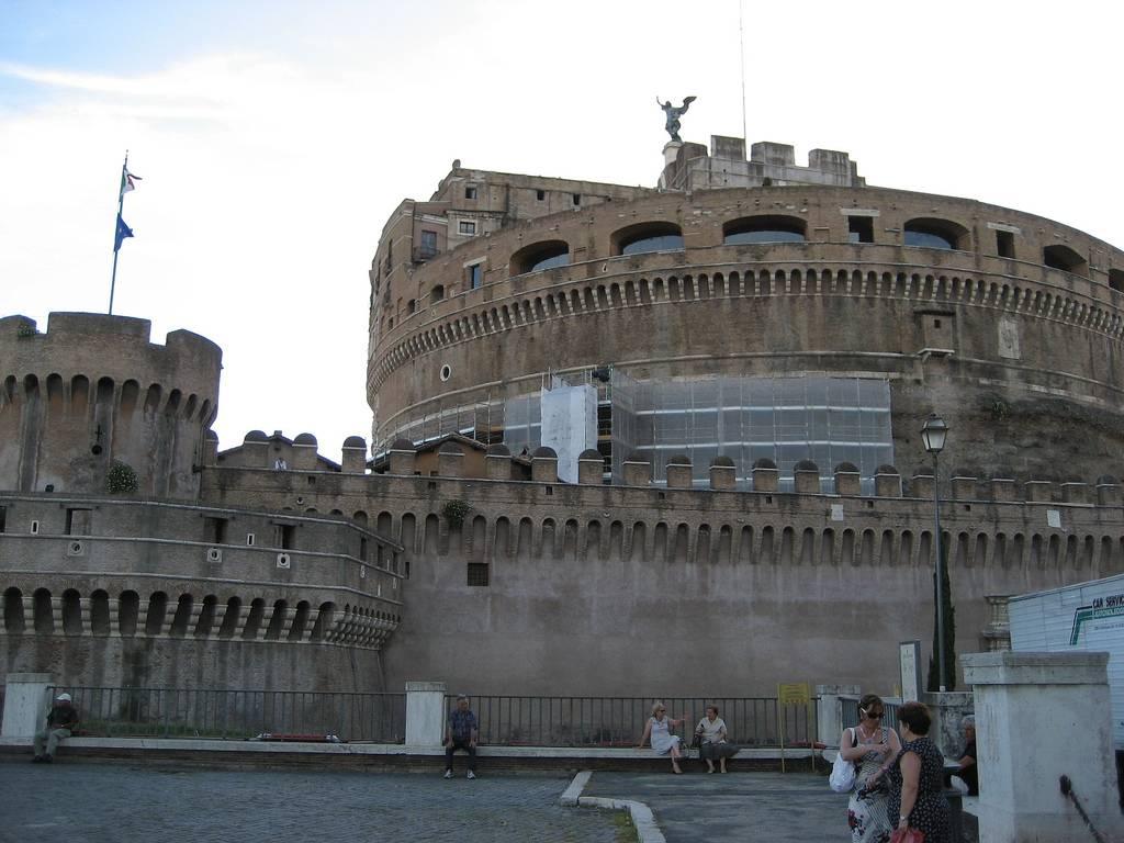 viaje a roma de 3 dias: castillo de san angelo