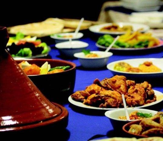 cómo comer en Marruecos