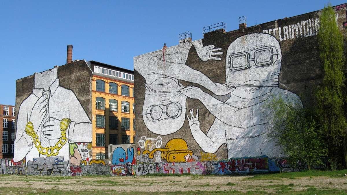 mejores graffitis del mundo berlin