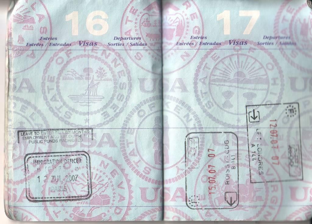 viaje a tailandia: pasaporte