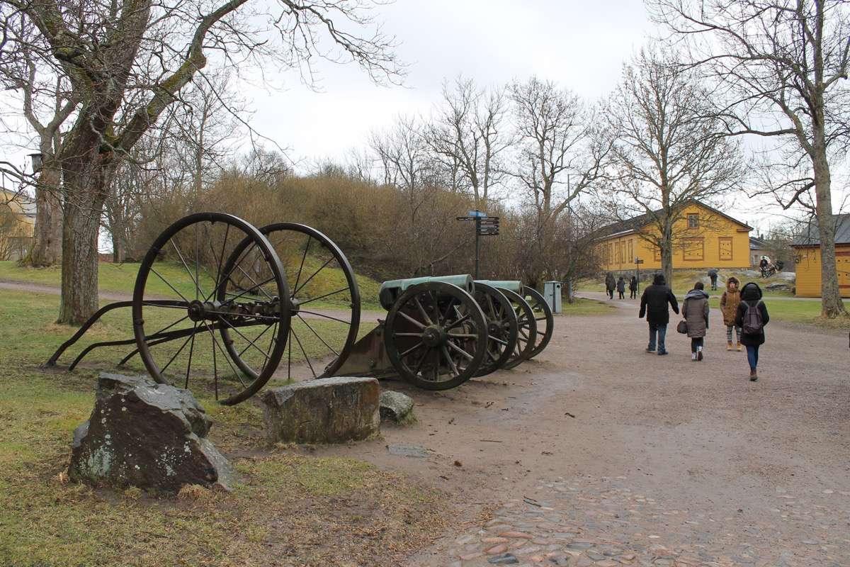 Visitar Suomenlinna Helsinki