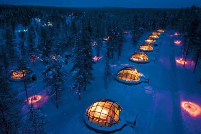 hotel de hielo Rovaniemi