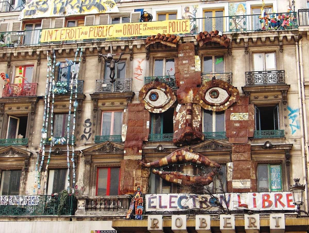 los mejores artistas urbanos de París rivoli 59
