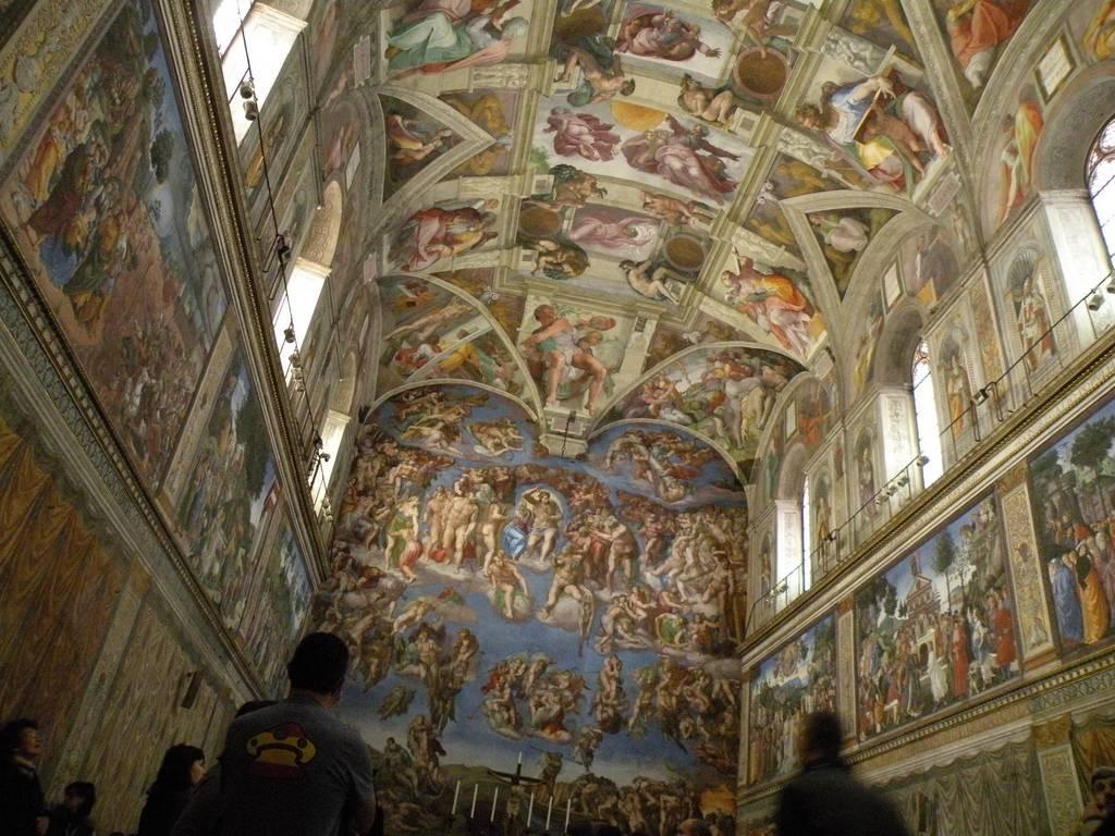 monumentos de italia: capilla sixtina