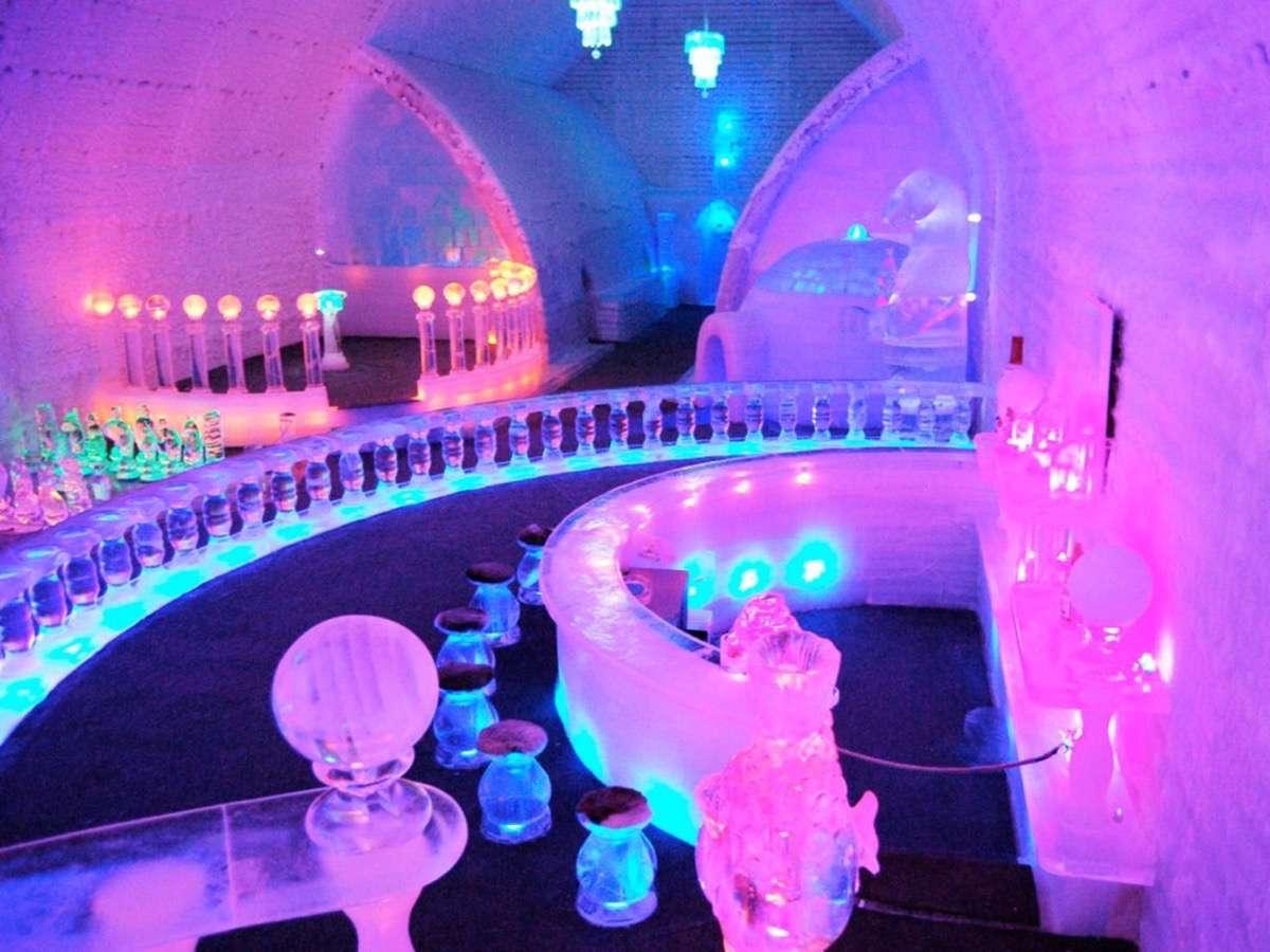 hoteles de hielo alaska aurora