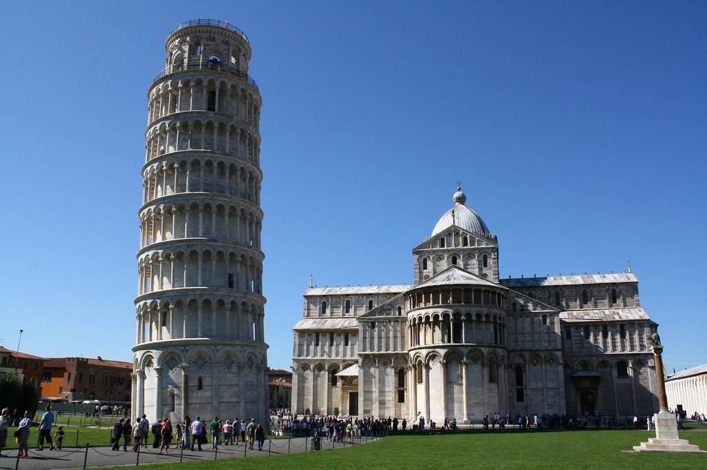 monumentos de italia: torre de pisa