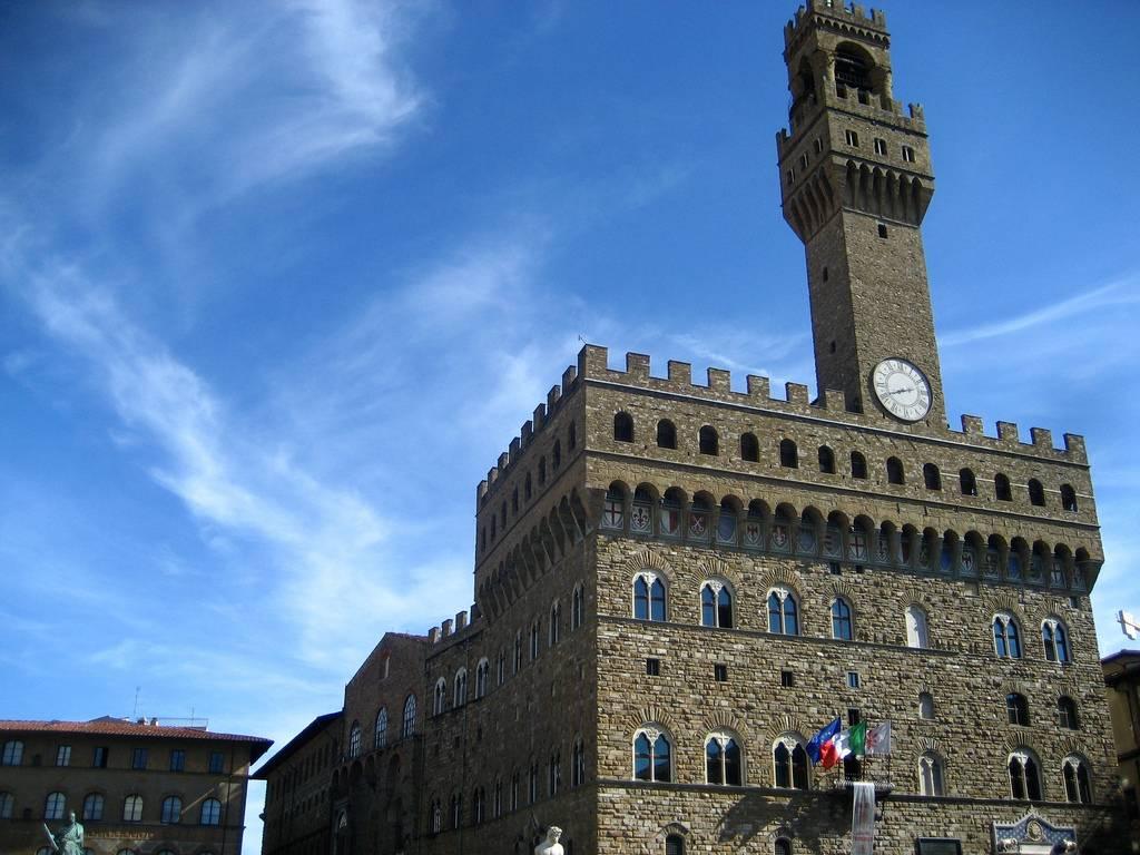 monumentos de italia: uffizi