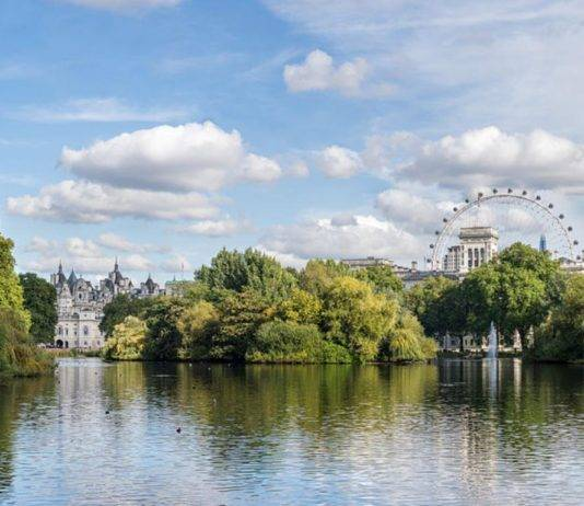 St James Park barrio de londres
