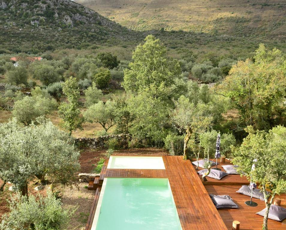 7 casas rurales en portugal con piscinas de ensue o - Casa rural lisboa ...