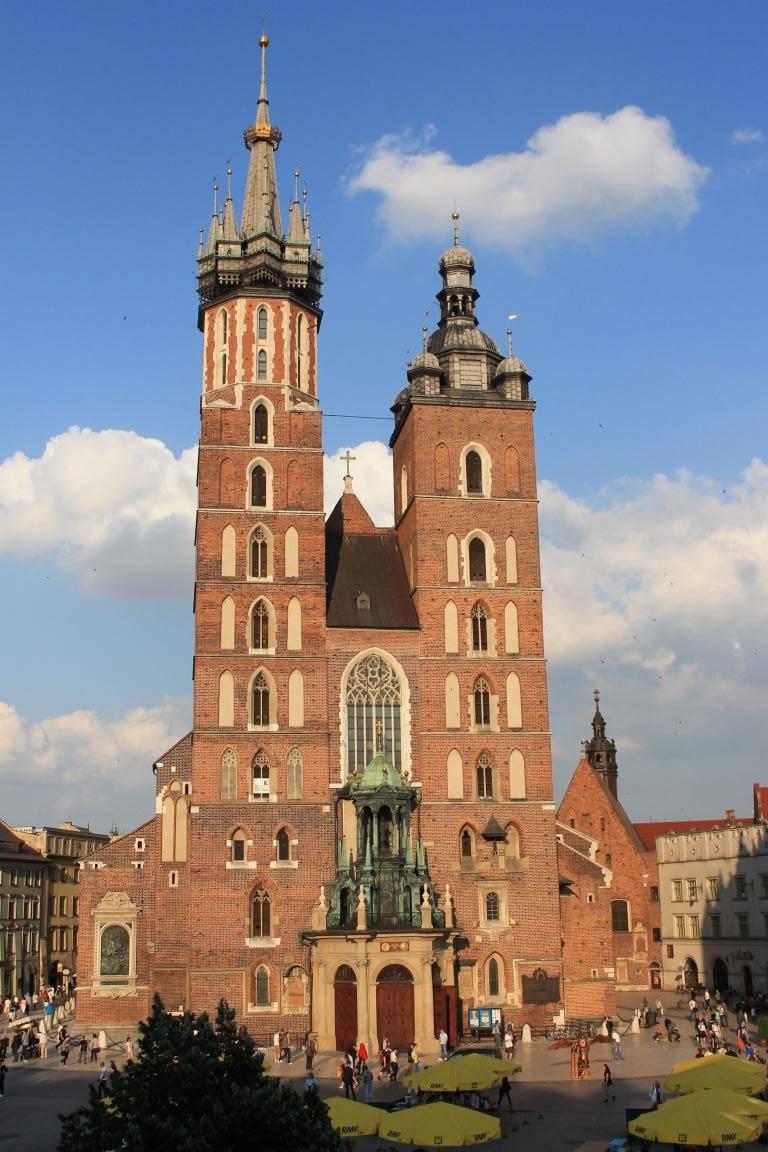 la plaza del mercado de Cracovia patricia muñoz
