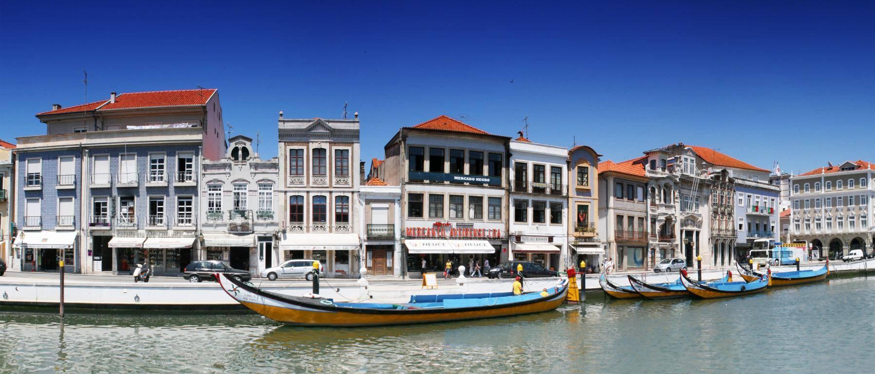 pueblos pintorescos de Portugal aveiro