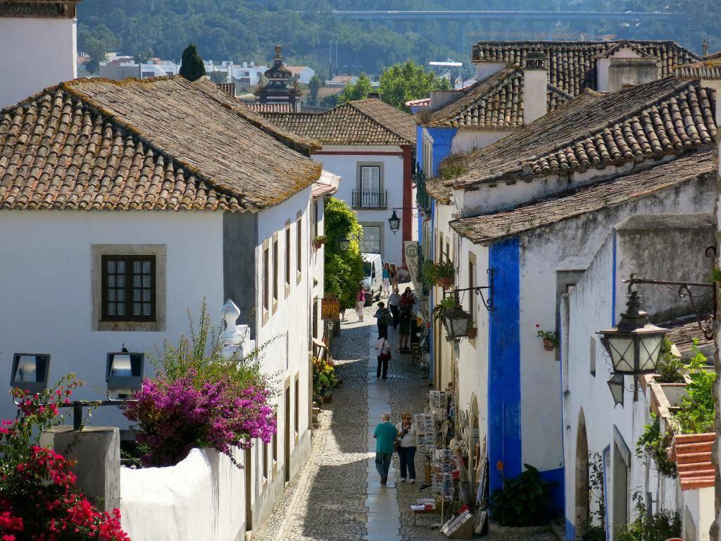 pueblos pintorescos de Portugal Obidos