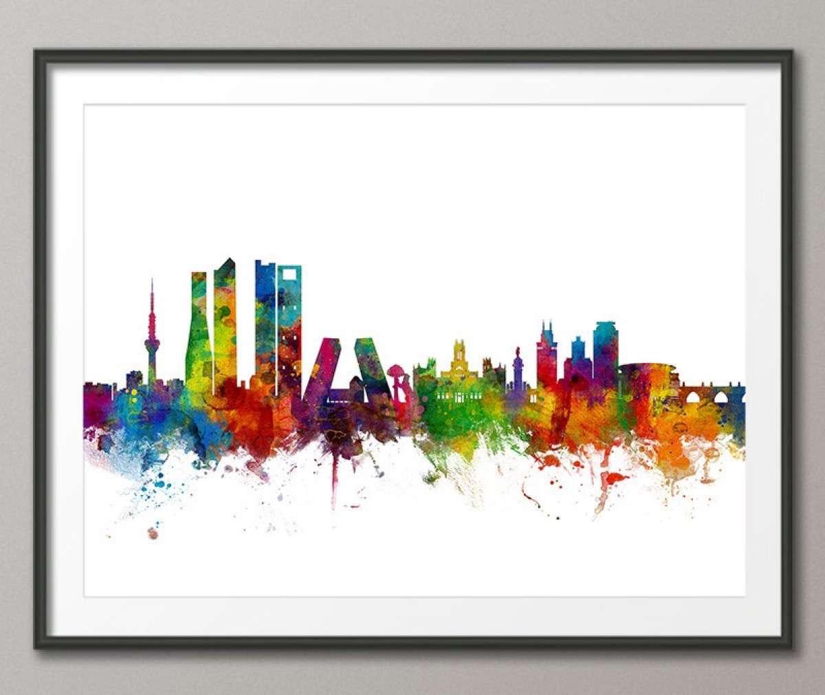 mapas del mundo skyline