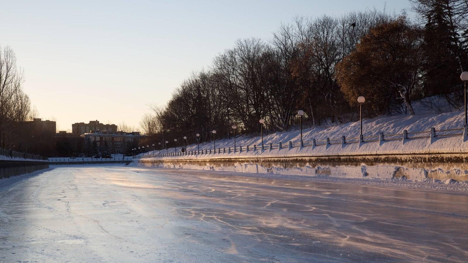 viajar en invierno Ottawa