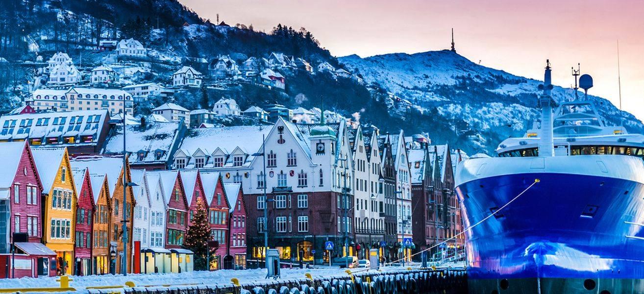 viajar en invierno Bergen