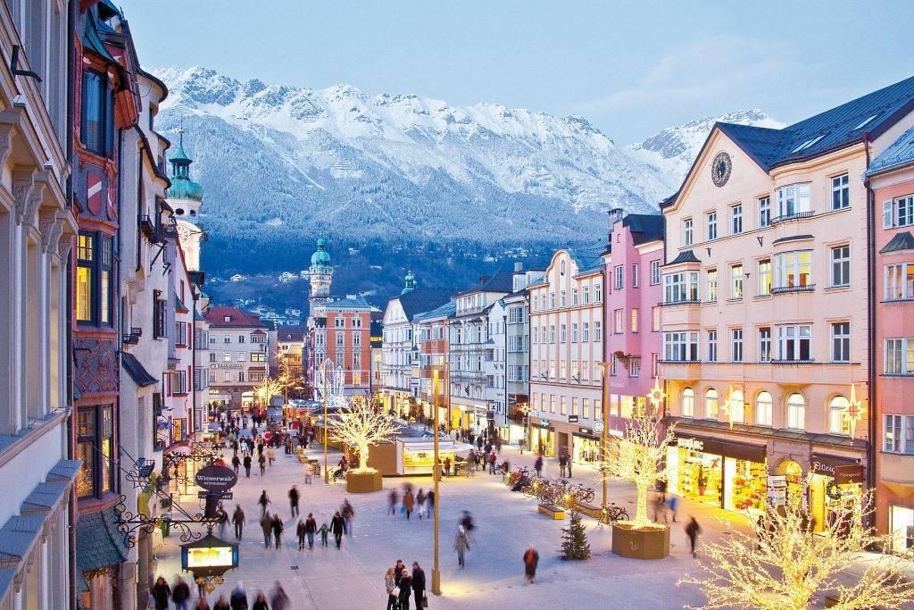 viajar en invierno Innsbruck