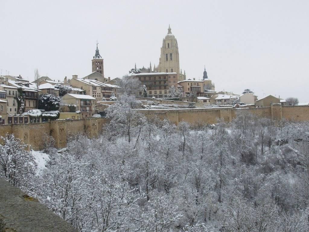 viajar en invierno Segovia