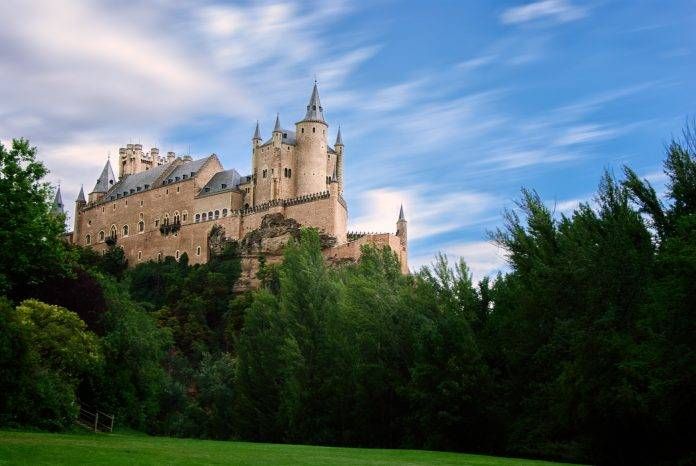 10 castillos que parecen haber salido de un cuento de hadas 2