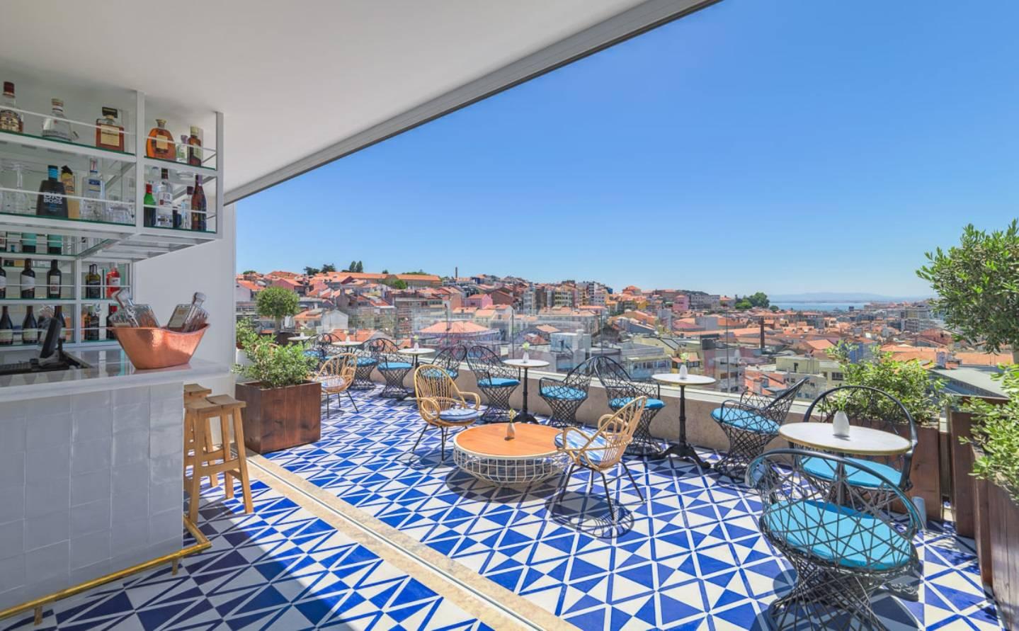 Descubre las siete mejores terrazas de lisboa vivir en for Terraza chill out