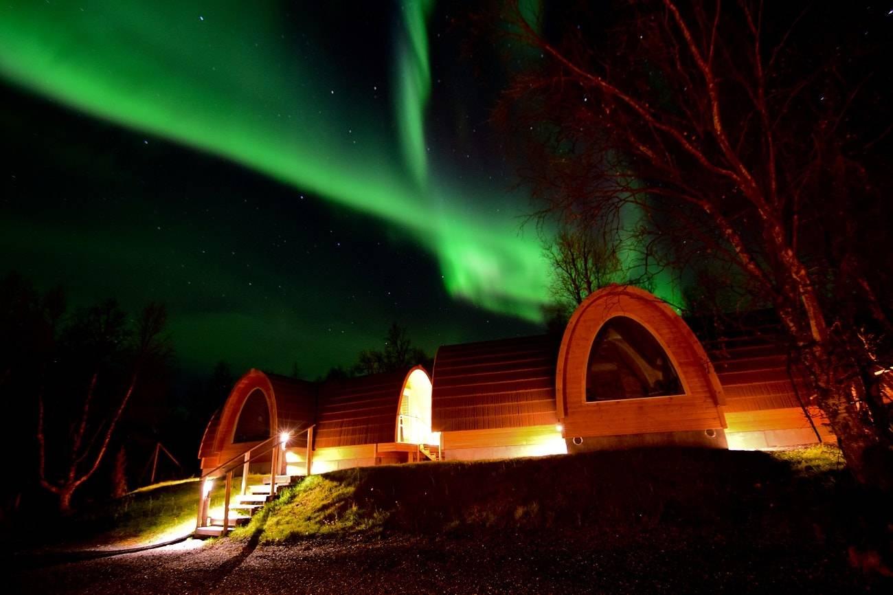 7 de los mejores alojamientos para ver auroras boreales 2