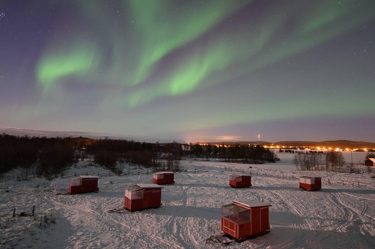 7 de los mejores alojamientos para ver auroras boreales 7