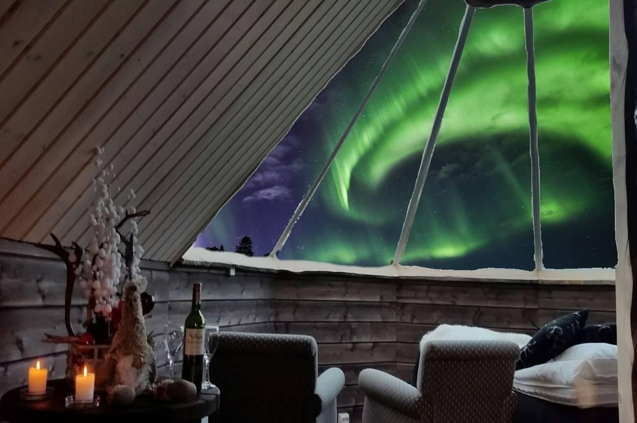 7 de los mejores alojamientos para ver auroras boreales 4