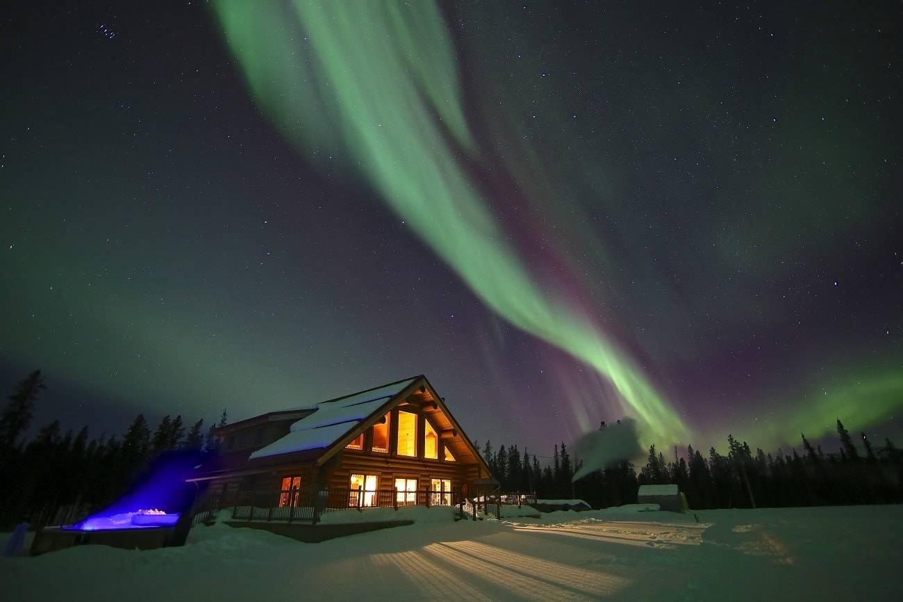 7 de los mejores alojamientos para ver auroras boreales 6