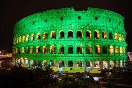 San Patricio teñirá de verde monumentos de todo el mundo 17