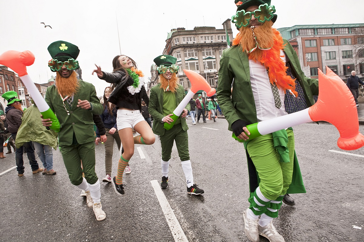San Patricio teñirá de verde monumentos de todo el mundo 2