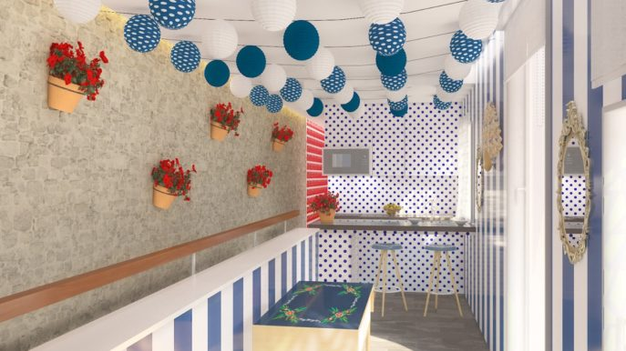 Se diseña el primer apartamento con caseta en el corazón de Sevilla como tributo a la Feria de Abril 8