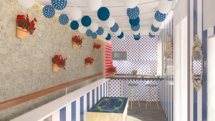 Se diseña el primer apartamento con caseta en el corazón de Sevilla como tributo a la Feria de Abril 10