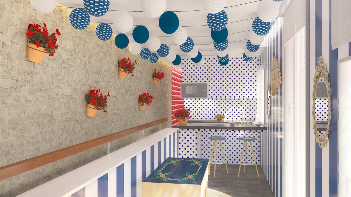 Se diseña el primer apartamento con caseta en el corazón de Sevilla como tributo a la Feria de Abril 2