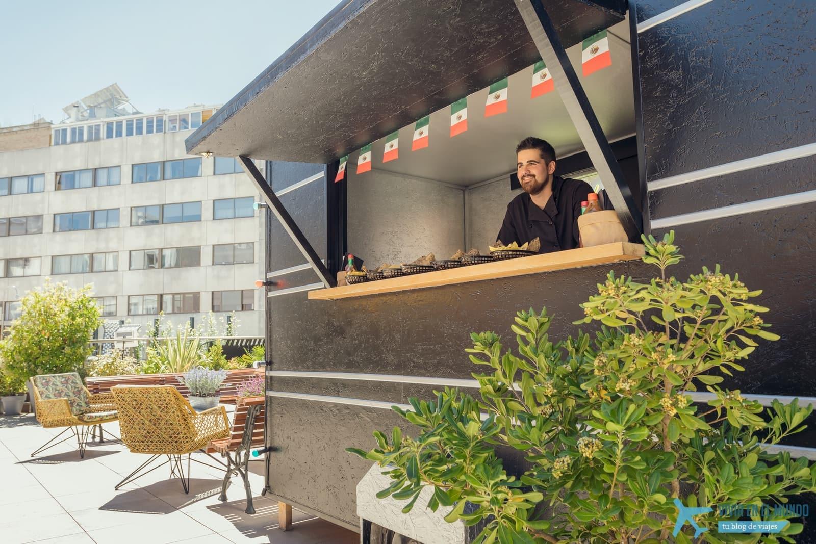 De Madrid al cielo en la terraza de verano del Generator 19