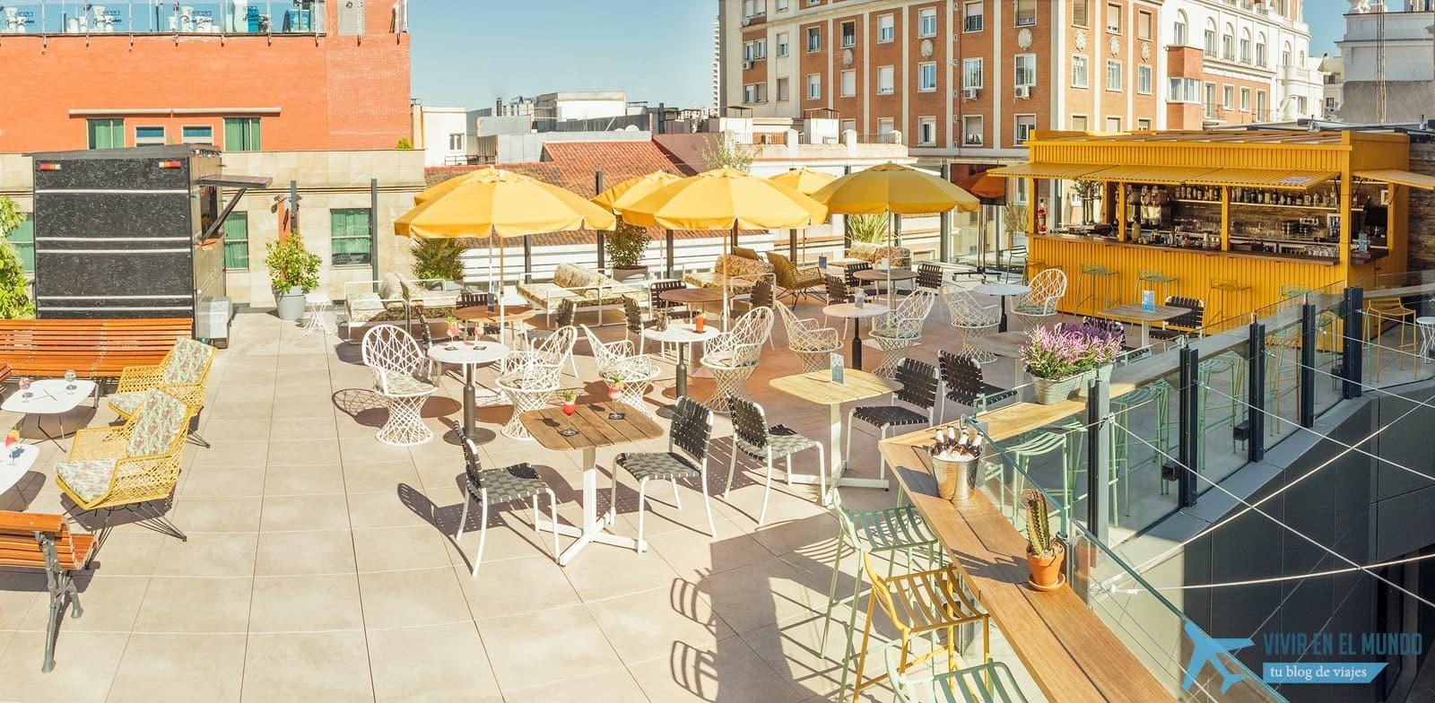 De Madrid al cielo en la terraza de verano del Generator 2