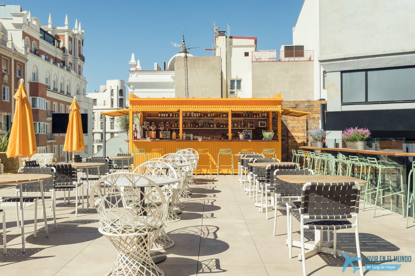 De Madrid al cielo en la terraza de verano del Generator 31