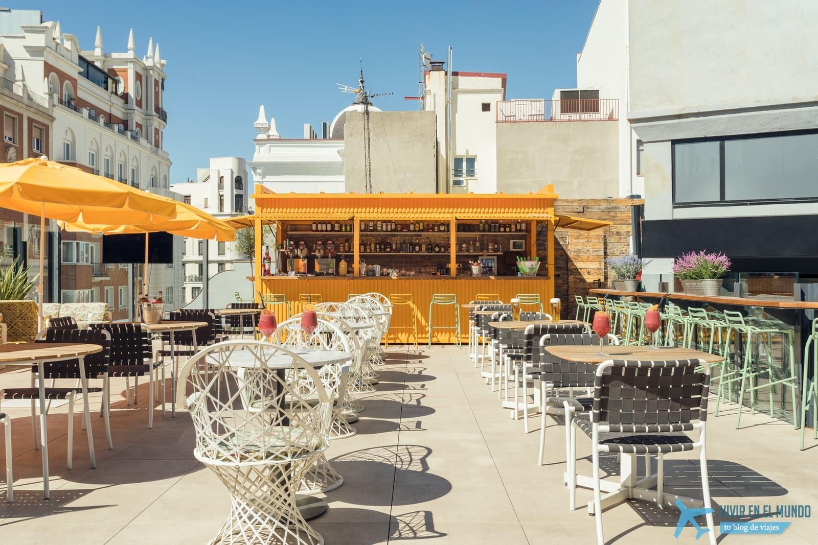 De Madrid al cielo en la terraza de verano del Generator 32