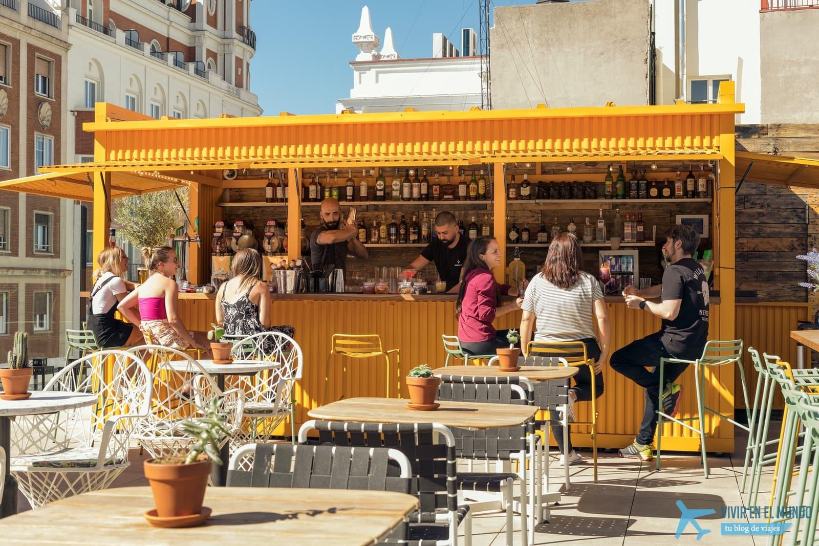 De Madrid al cielo en la terraza de verano del Generator 34