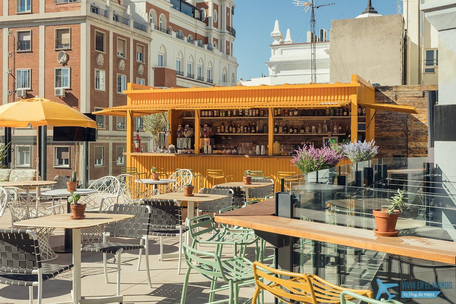 De Madrid al cielo en la terraza de verano del Generator 36