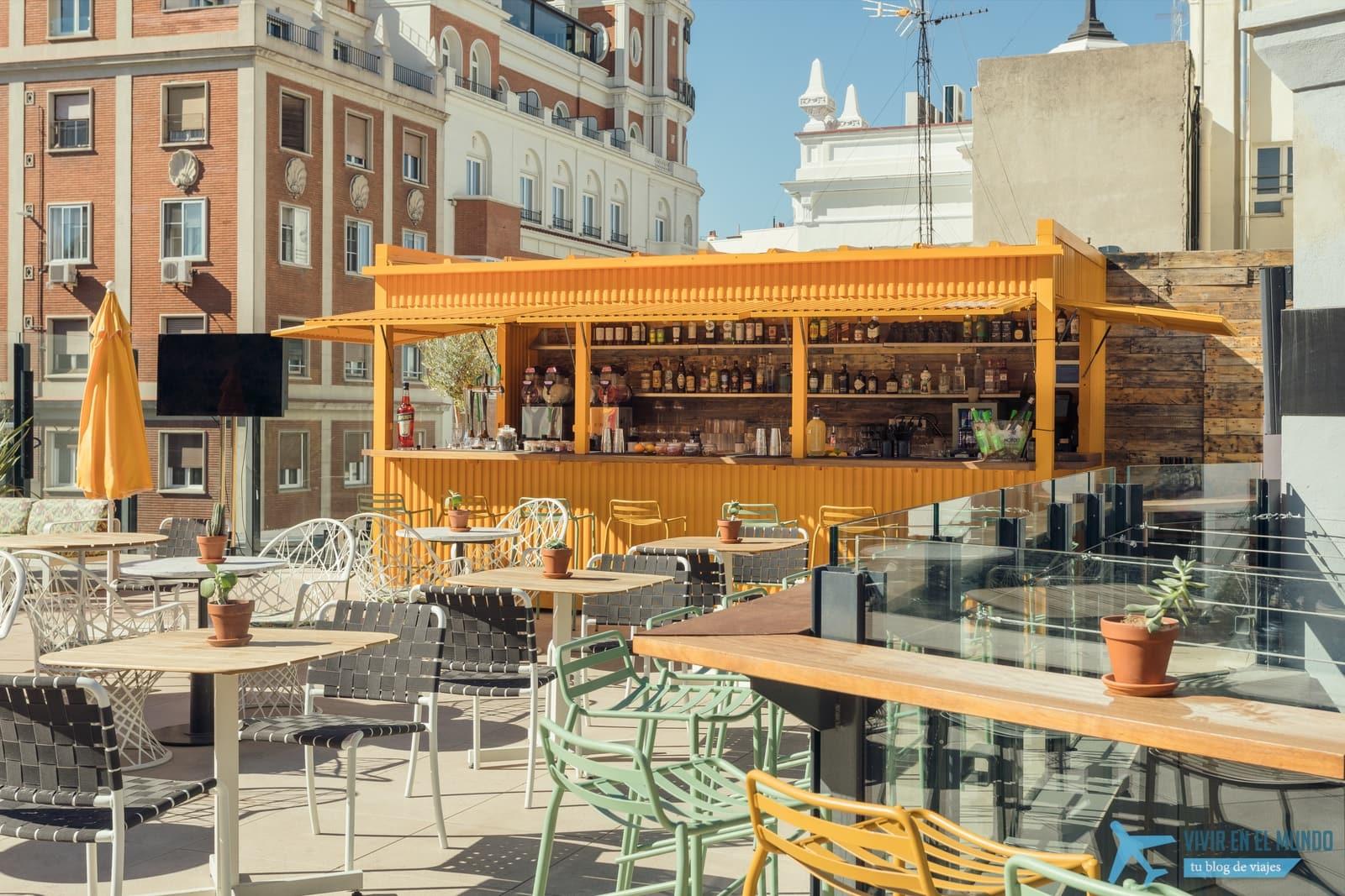 De Madrid al cielo en la terraza de verano del Generator 37