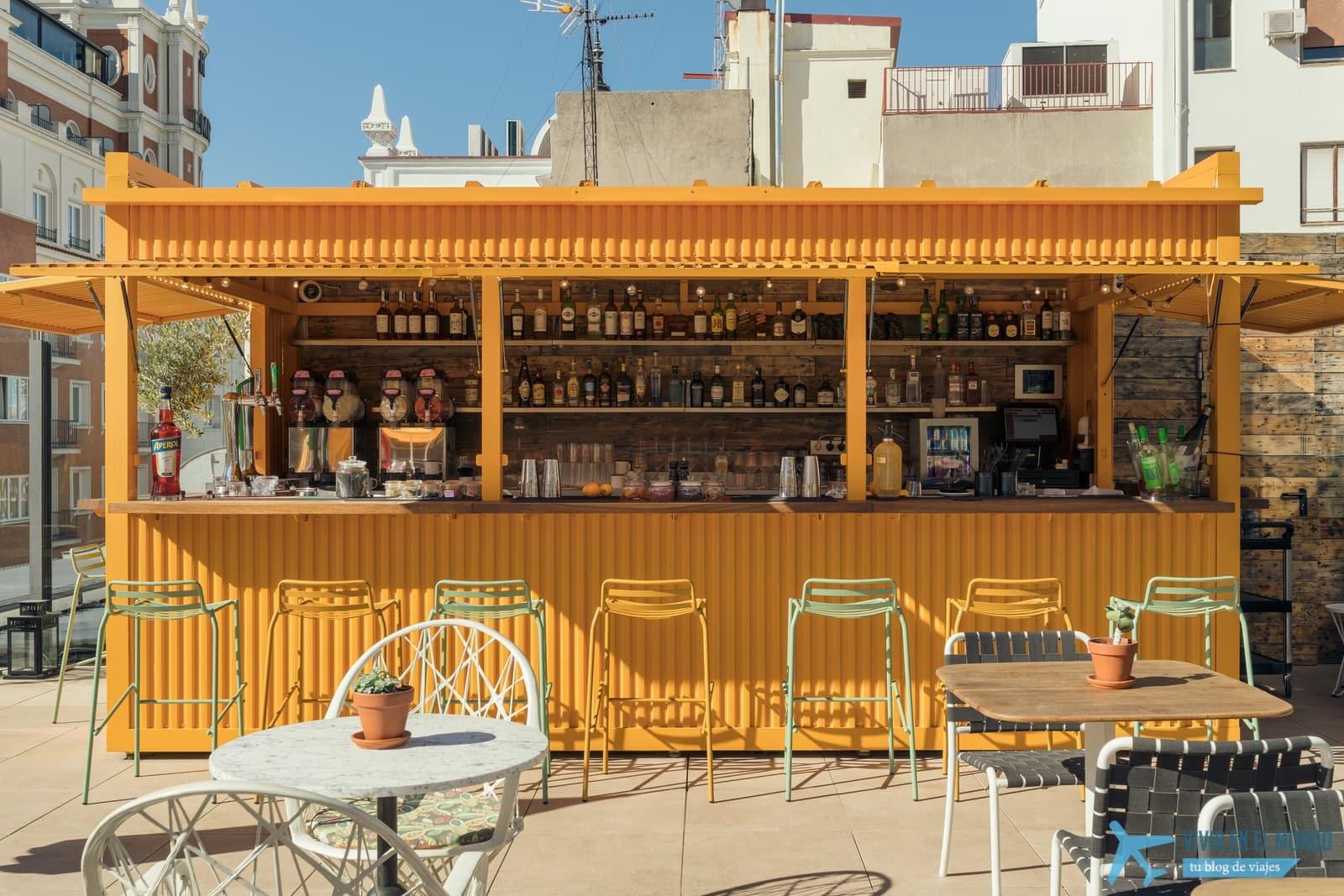 De Madrid al cielo en la terraza de verano del Generator 38