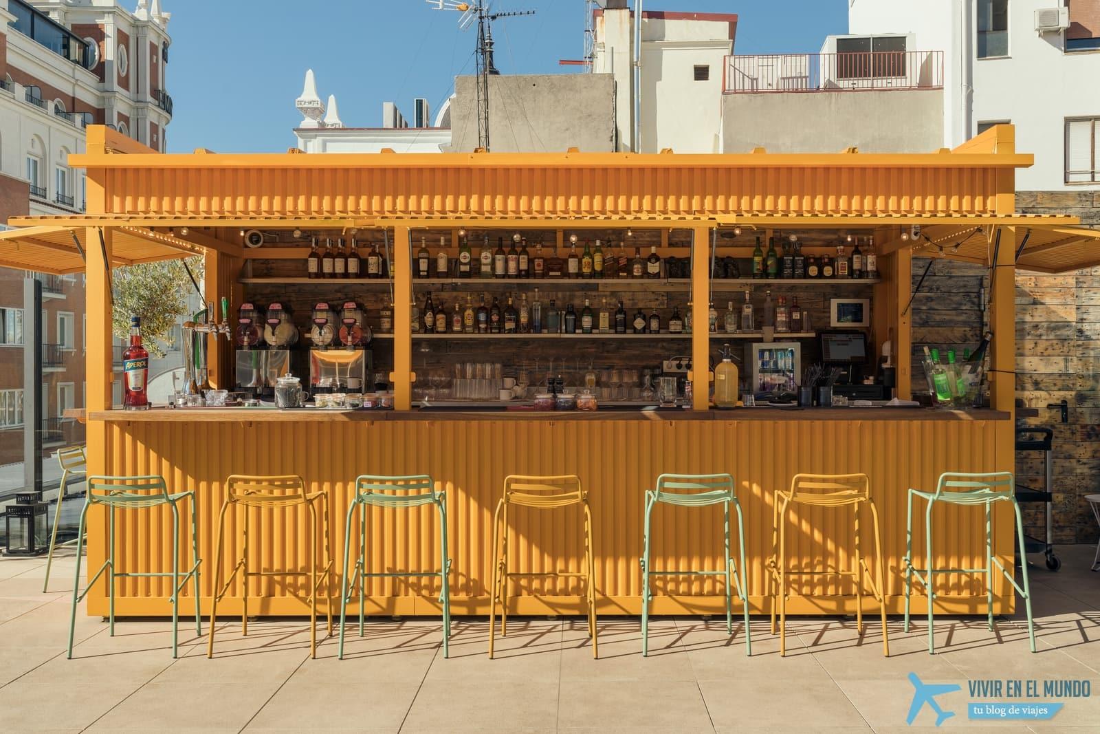 De Madrid al cielo en la terraza de verano del Generator 39