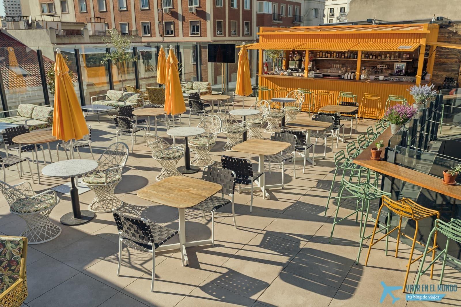 De Madrid al cielo en la terraza de verano del Generator 46