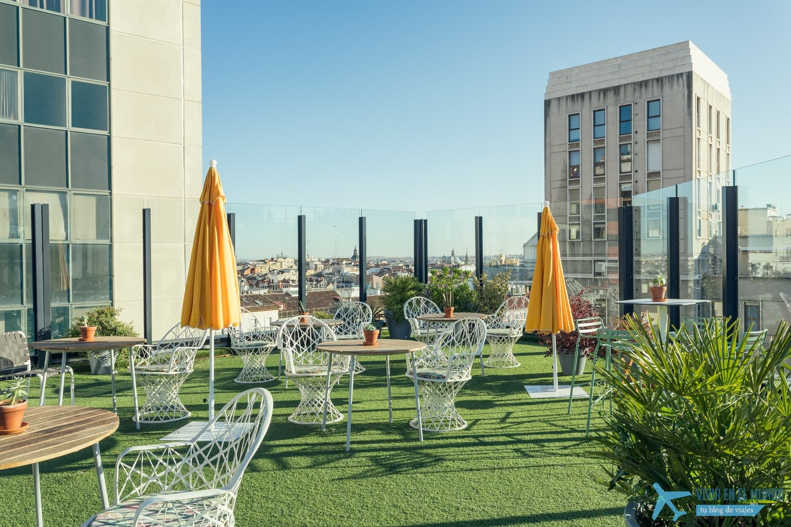 De Madrid al cielo en la terraza de verano del Generator 52