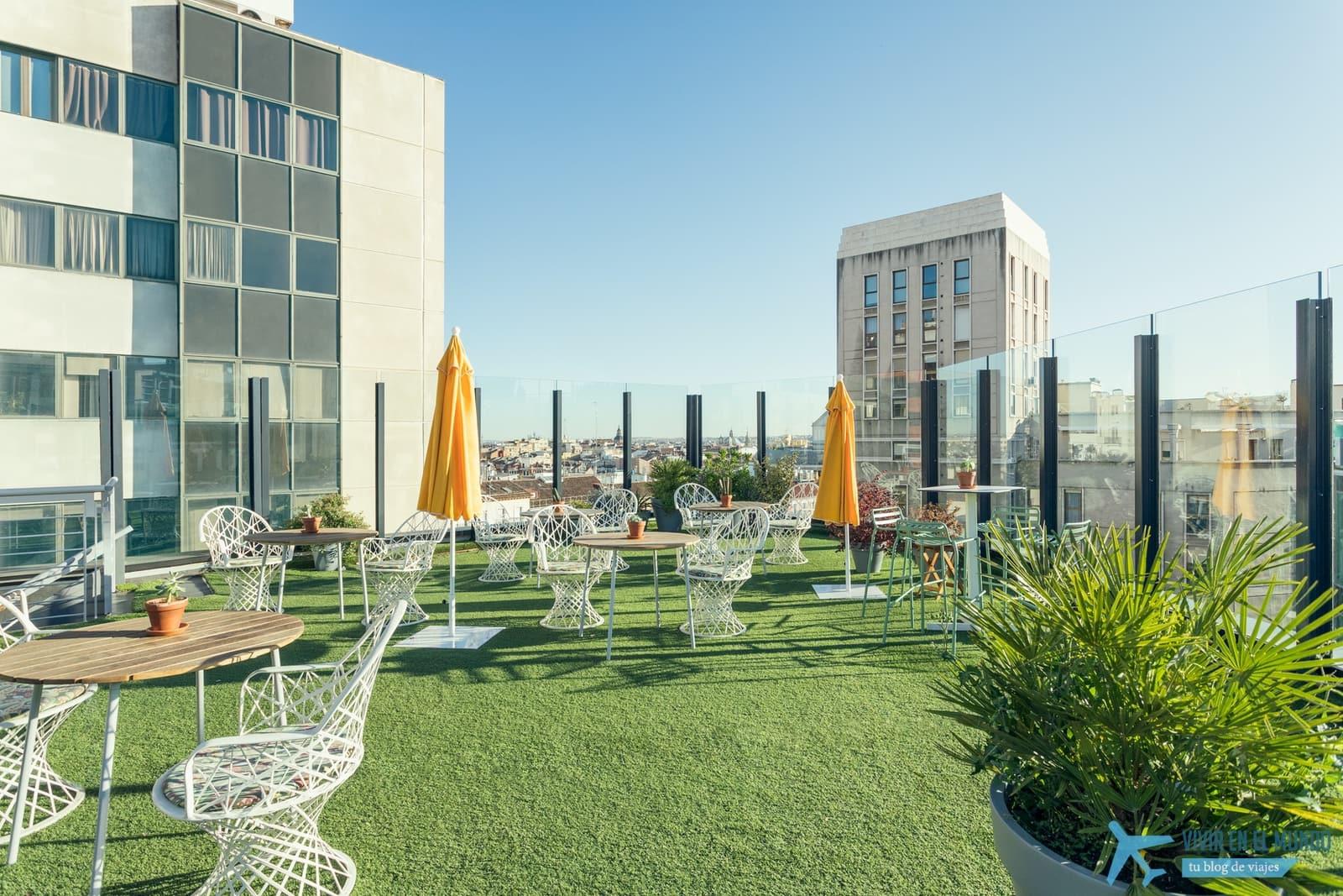 De Madrid al cielo en la terraza de verano del Generator 55