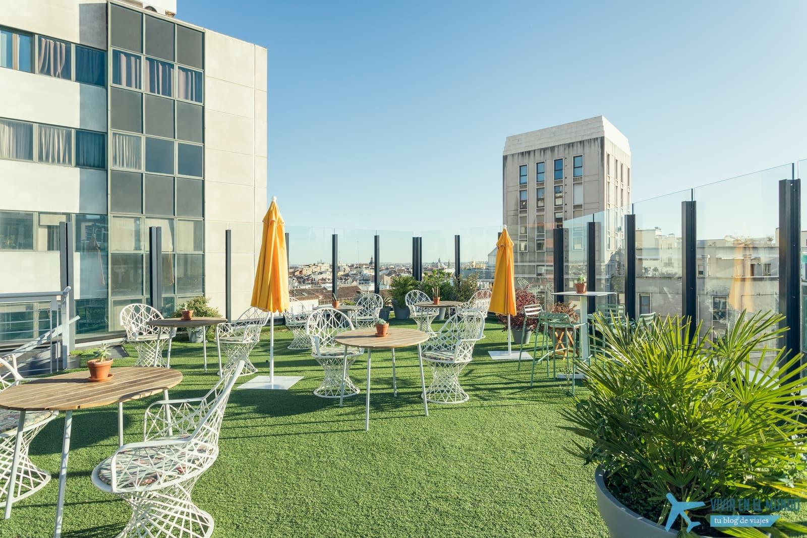 De Madrid al cielo en la terraza de verano del Generator 56